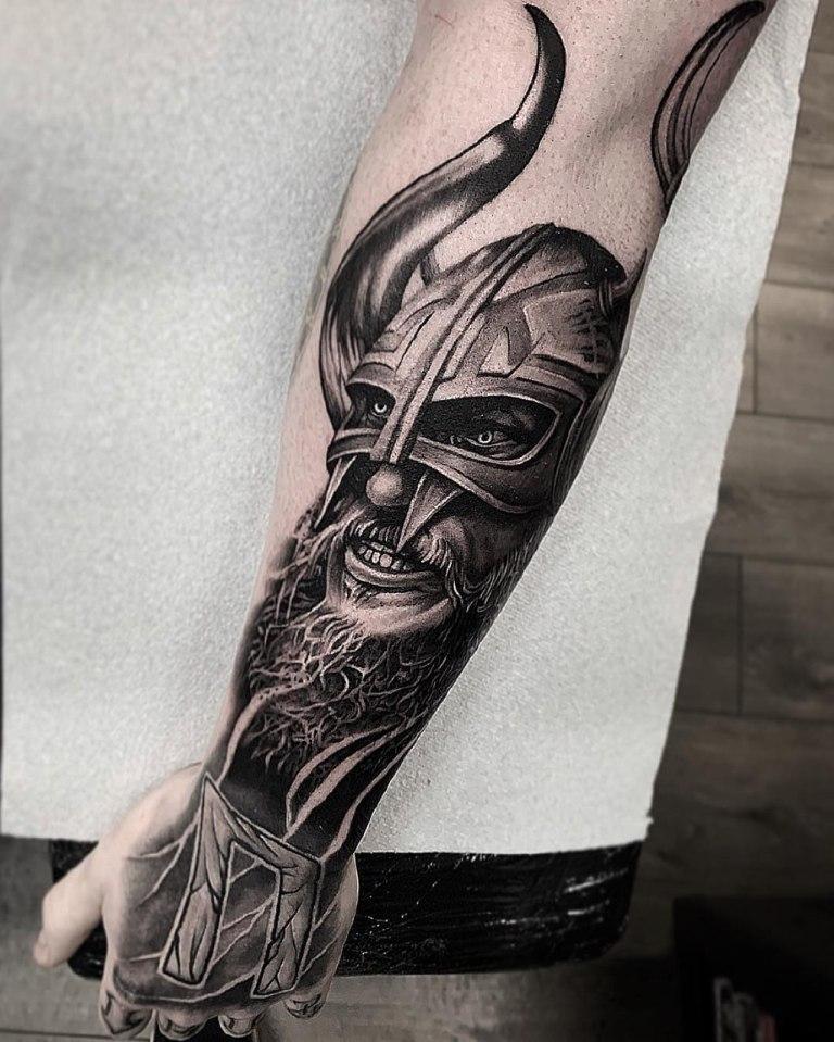 татуировки викингов
