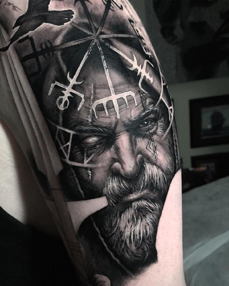 тату викингов