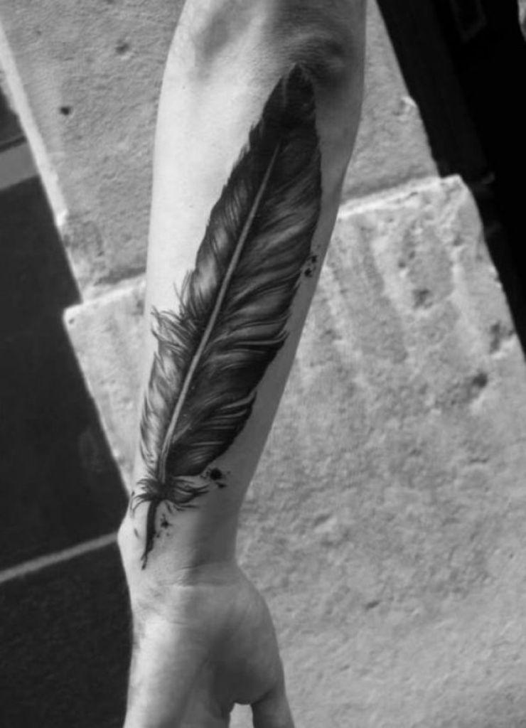 мужские татуировки на запястье