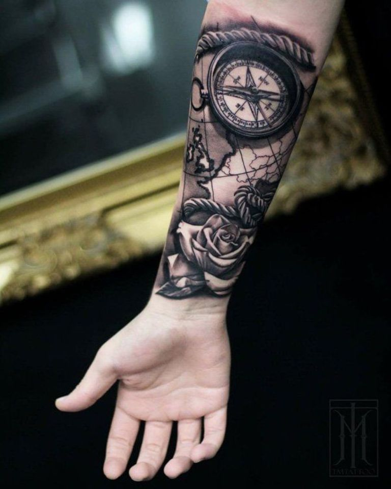 татуировки на руку