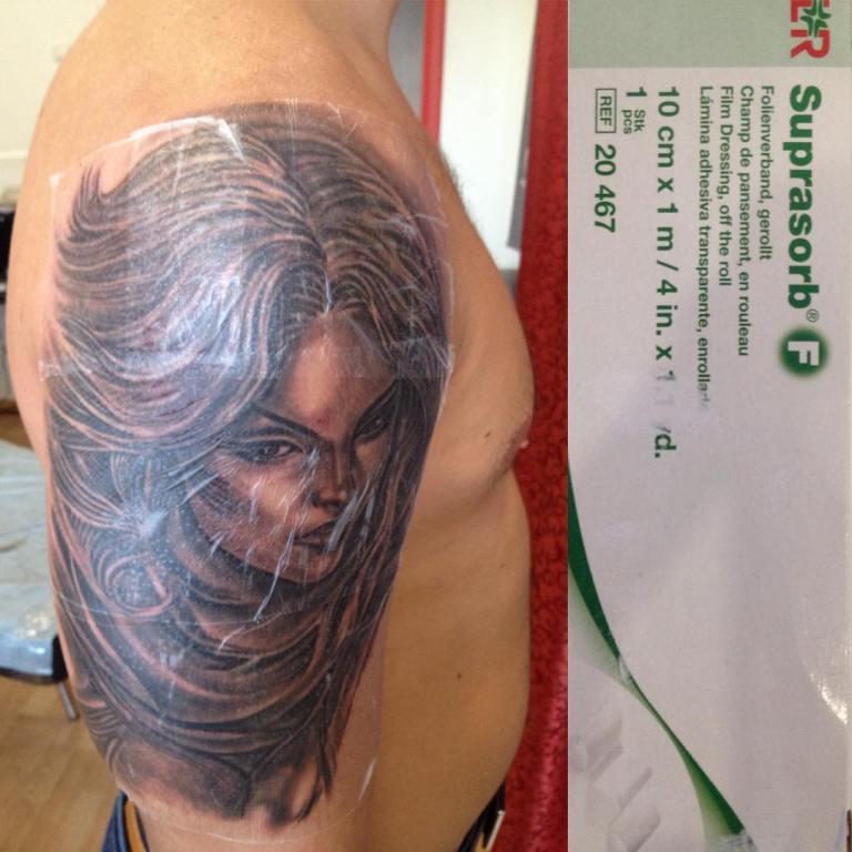 как заживает татуировка