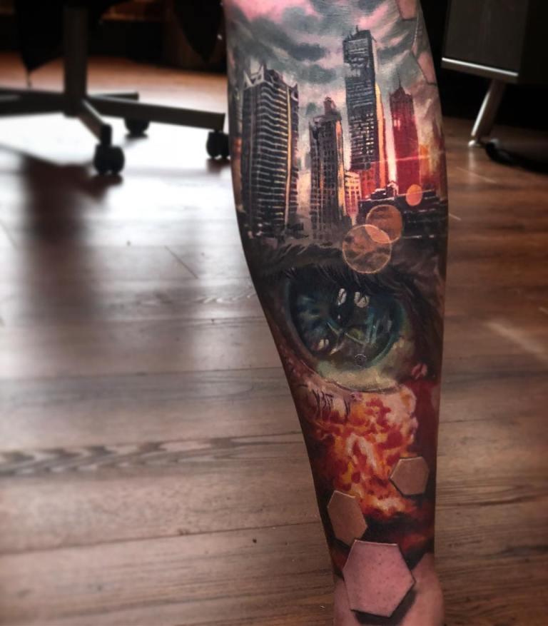 3 d татуировки фото