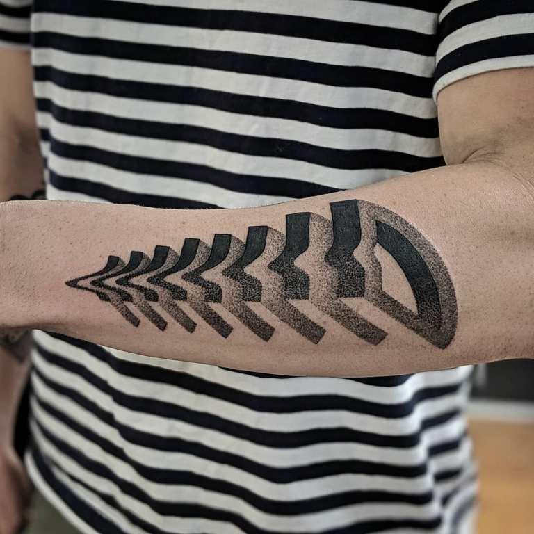 3 д татуировки для мужчин
