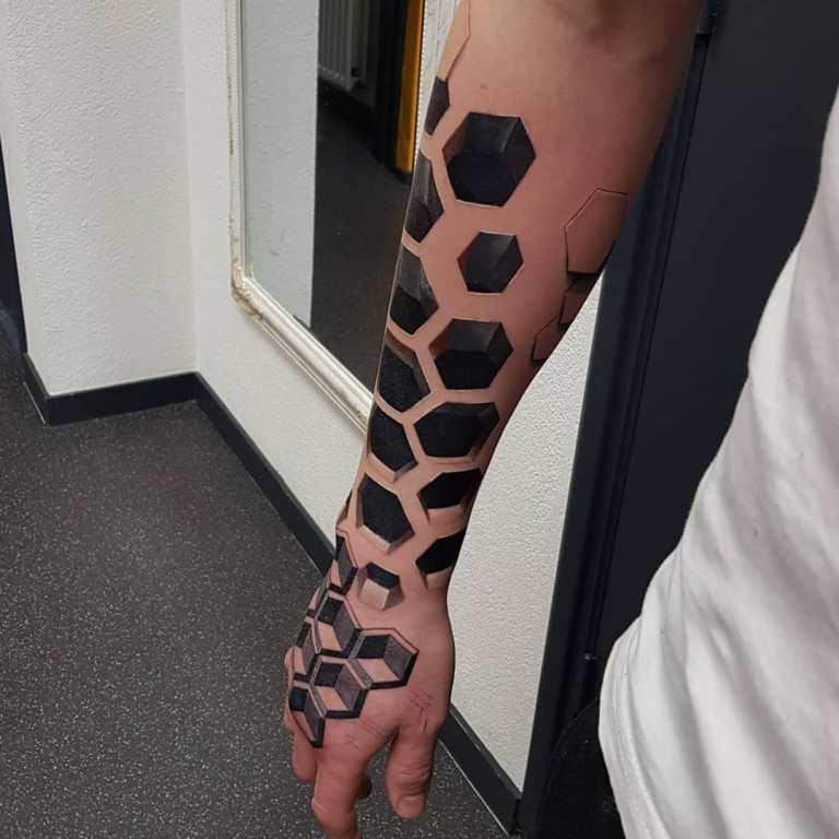 3d татуировки фото мужские