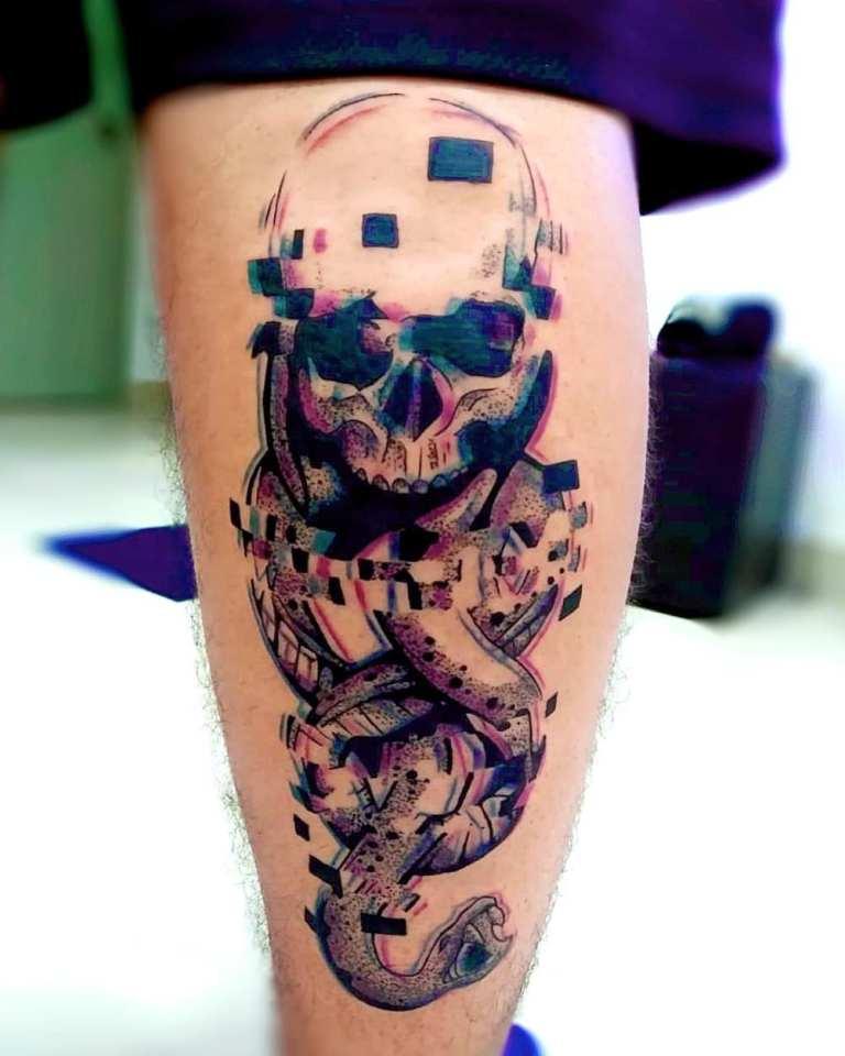 3д татуировки фото мужские