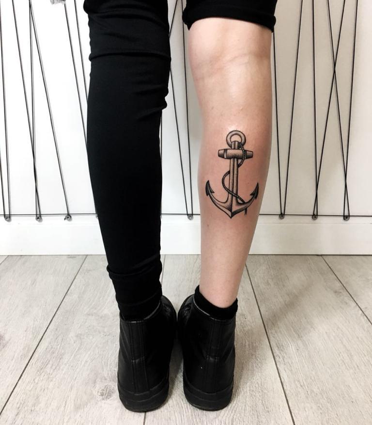 что означает татуировка якорь