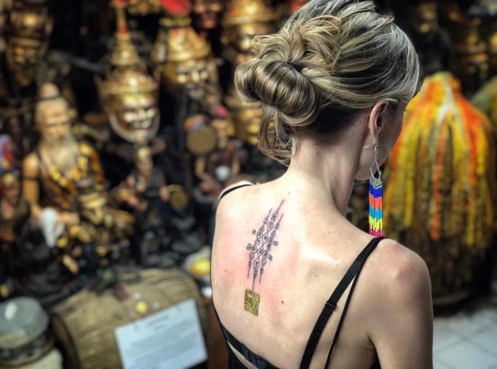 тайские татуировки