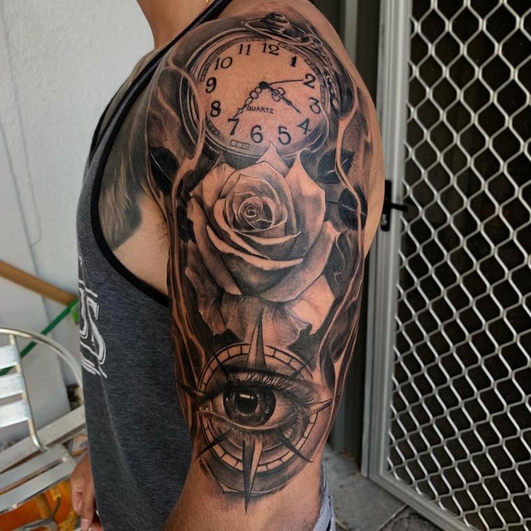 что означает татуировка компас на руке