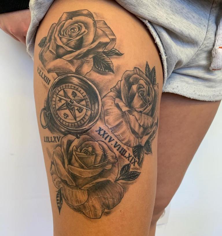 что означает тату компас