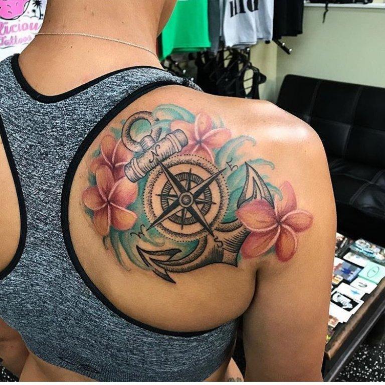 что значит тату компас