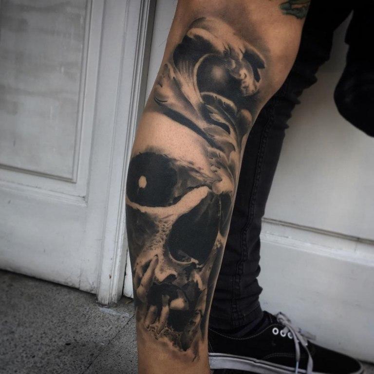 татуировка череп значение