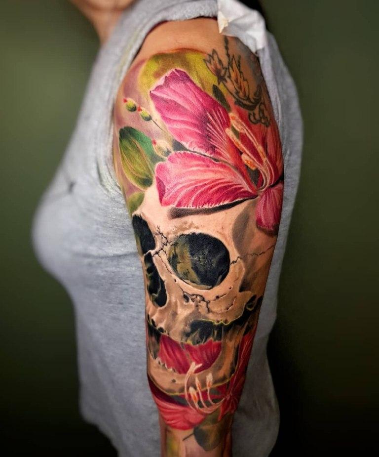 что означает череп тату
