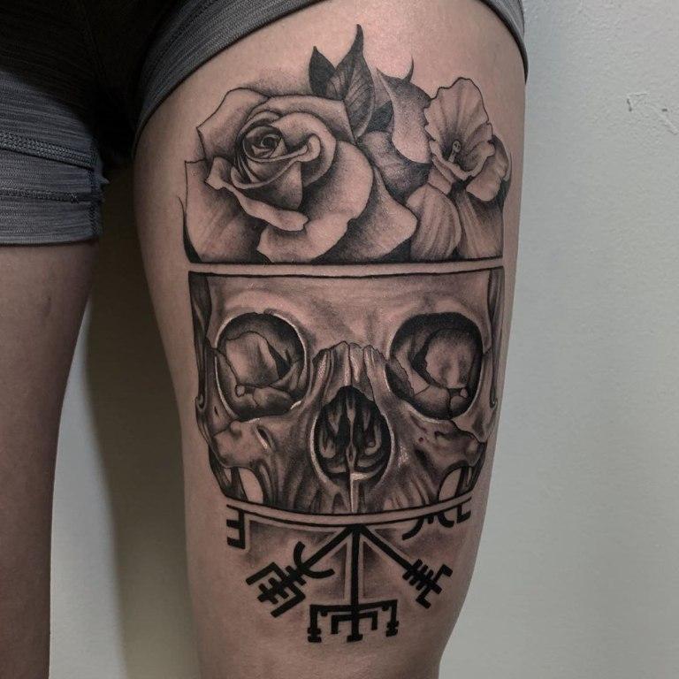 что означает татуировка череп