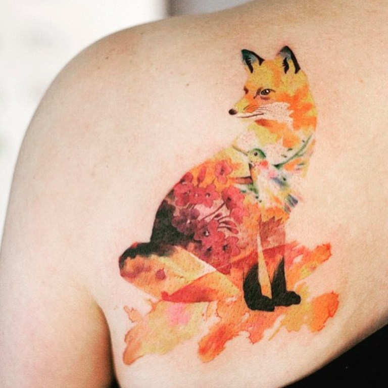 значение татуировки лиса