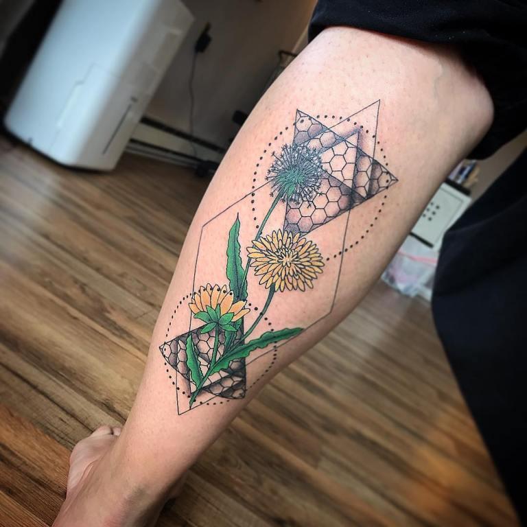татуировка одуванчик значение