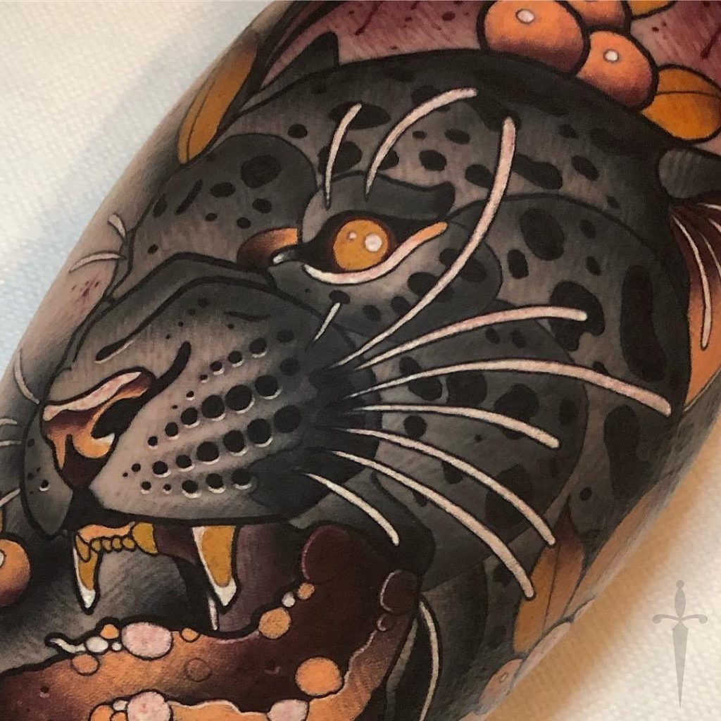 татуировки пантера