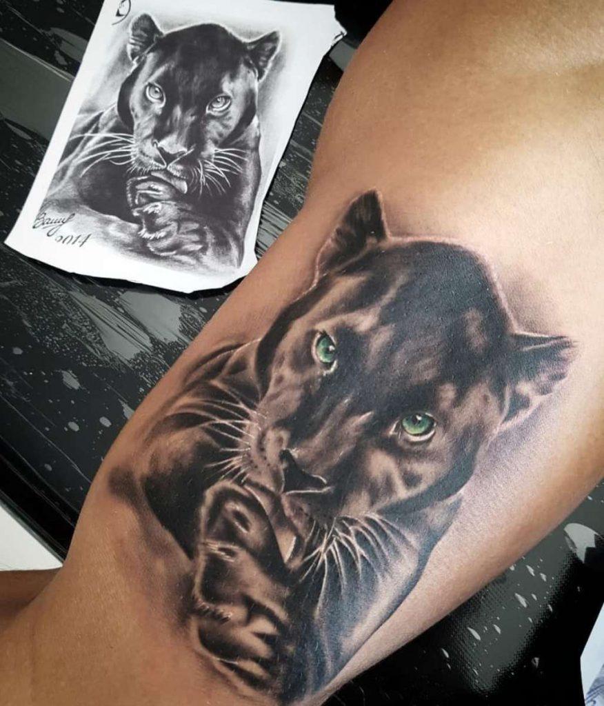 татуировки пантеры
