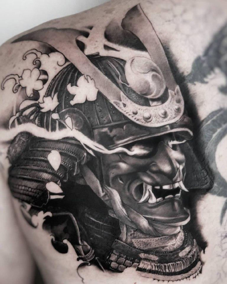 татуировки самураев фото