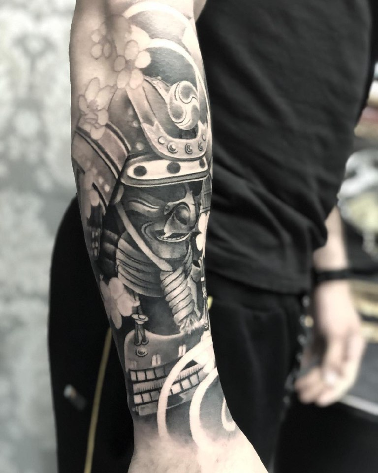 значение татуировки самурай
