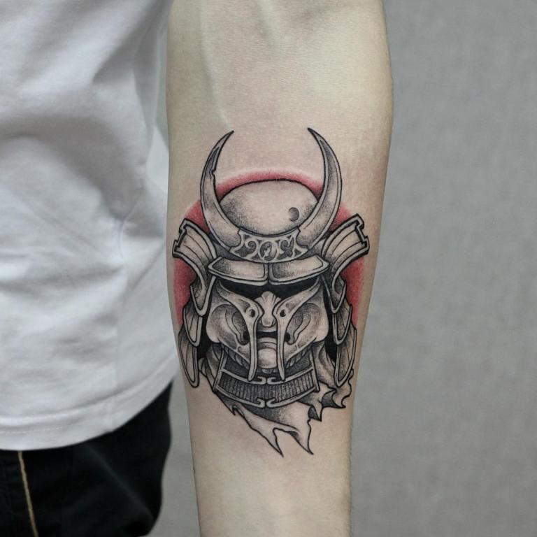 самурайские татуировки