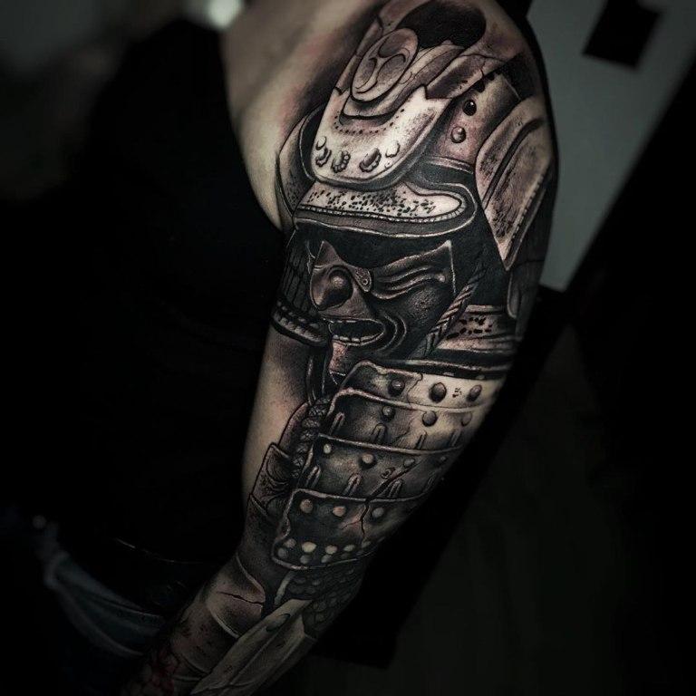 татуировки самураев эскизы