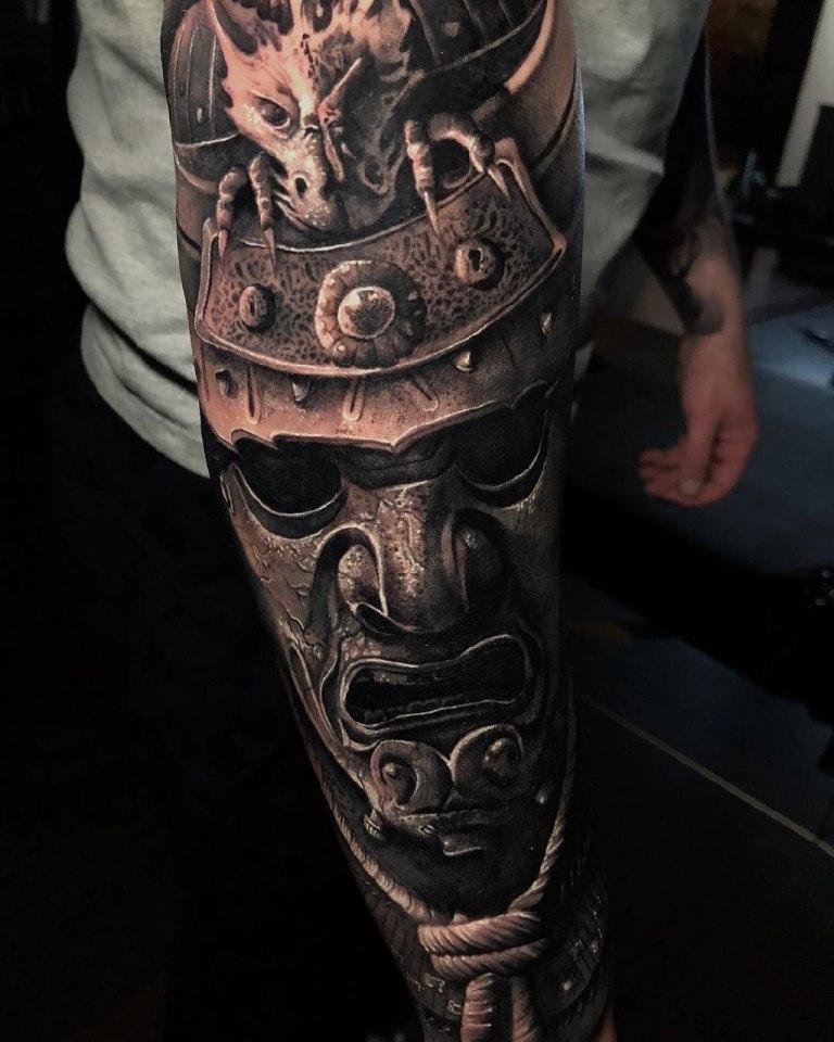 самурайские маски