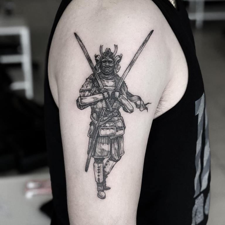 тату самурай значение