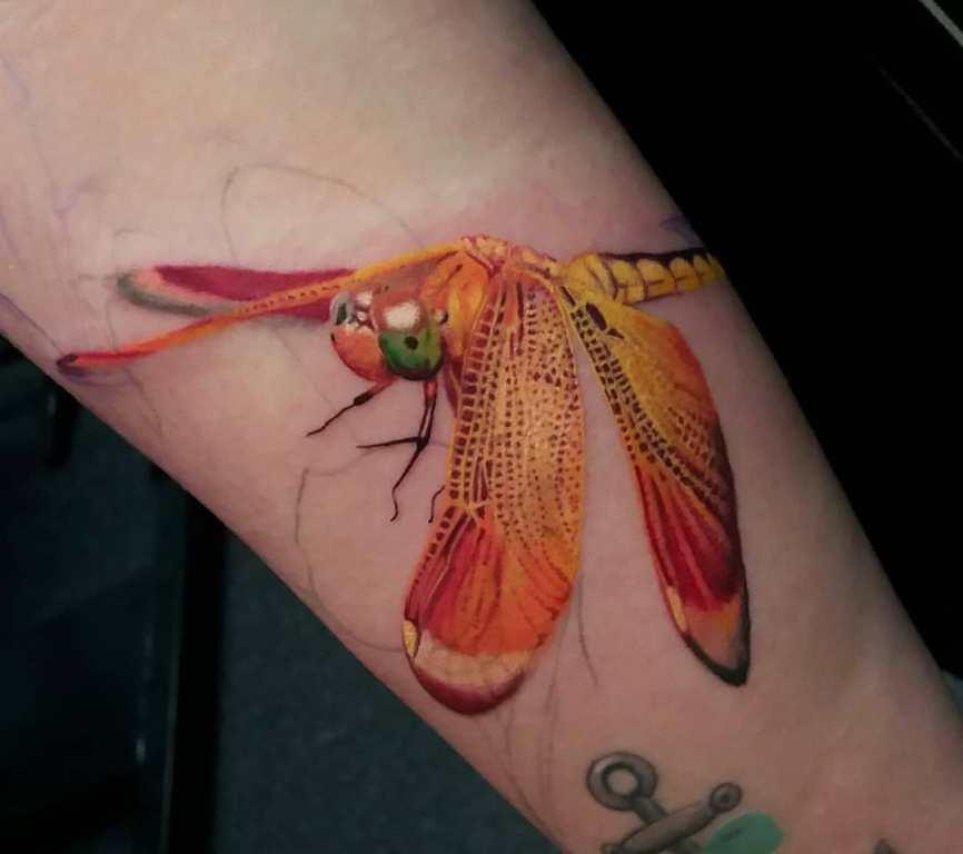 татуировка стрекоза значение