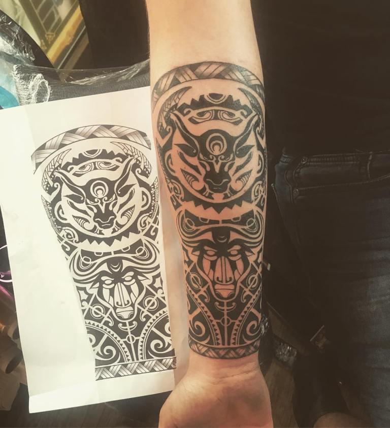 татуировки тельца для мужчин
