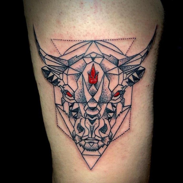 татуировка телец значение