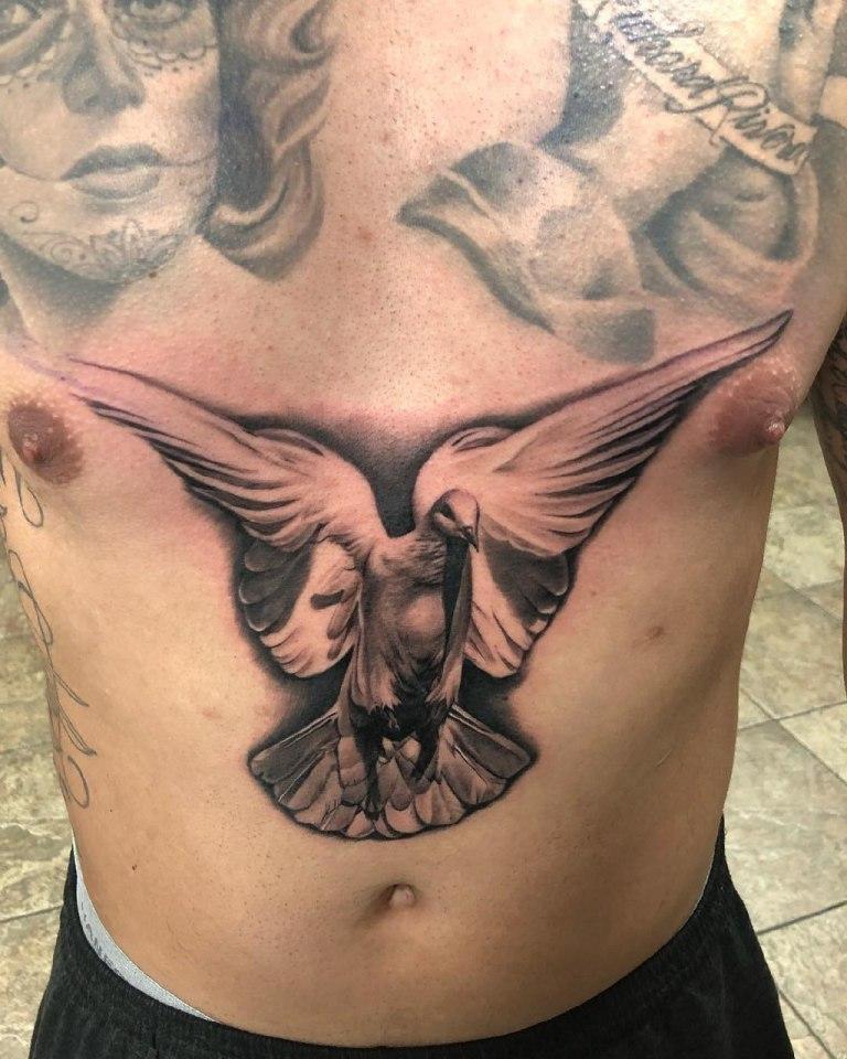 татуировки голубей