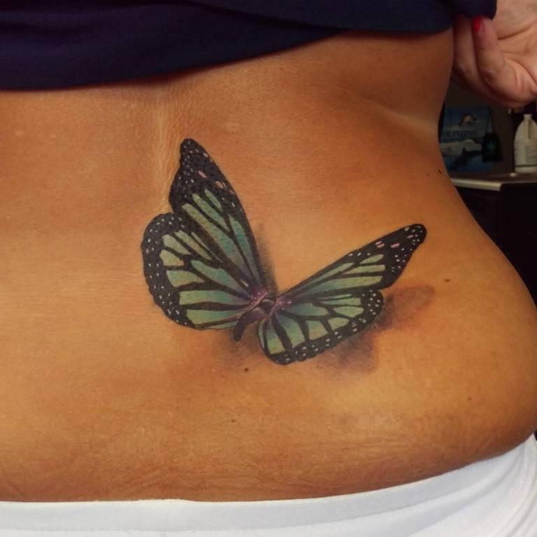 татуировки на поясницу