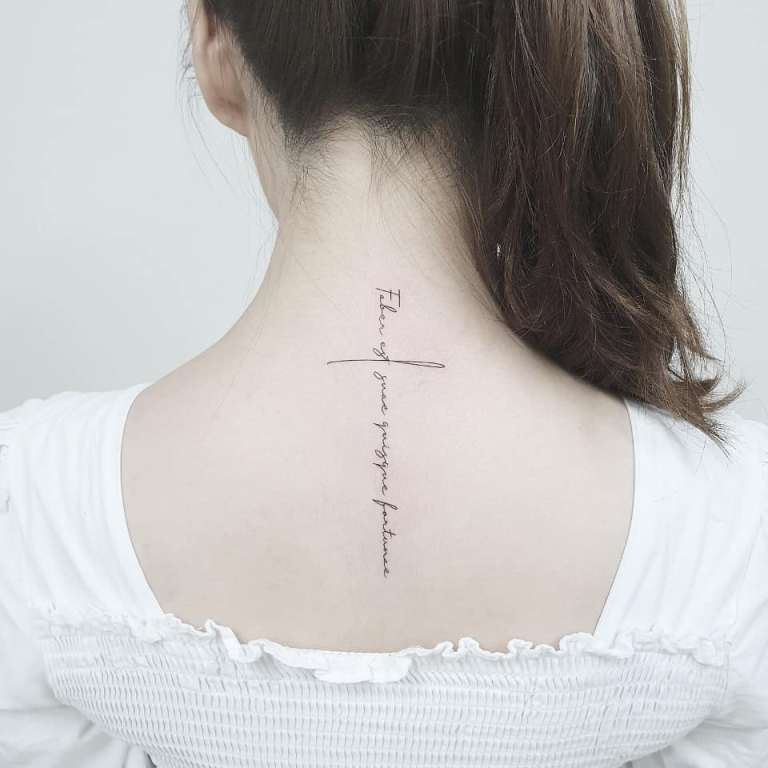 эскизы тату на шею для девушек