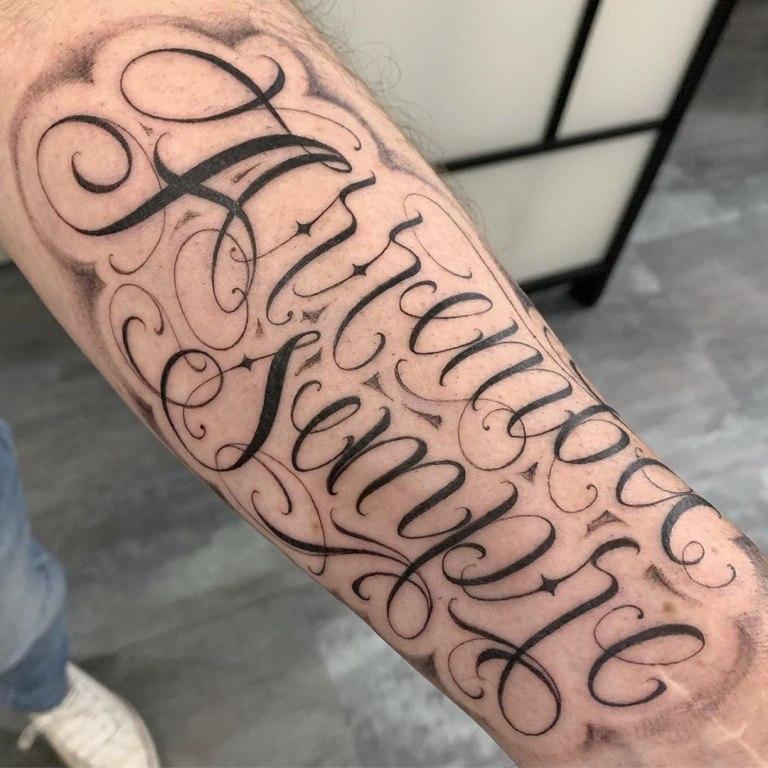 тату надписи с переводом для мужчин