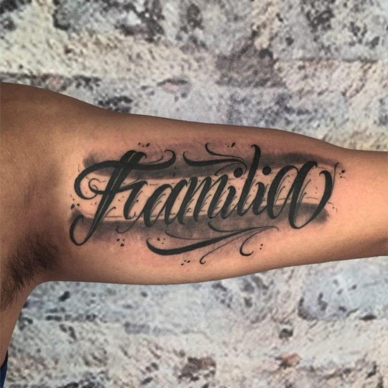 тату надпись на руке мужские с переводом