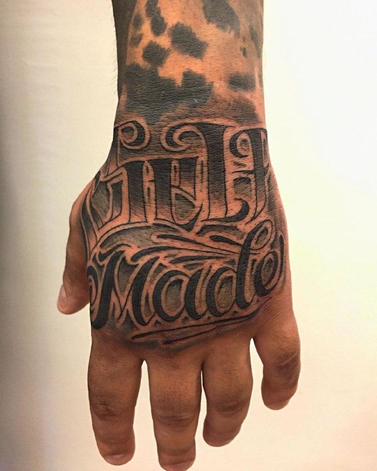 татуировки на руку мужские надписи с переводом