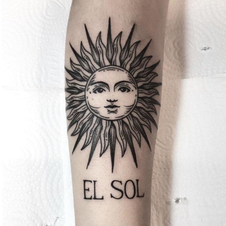 обозначение татуировок