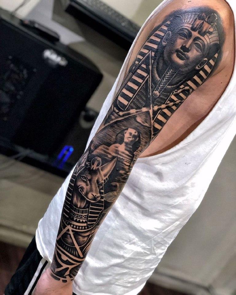 татуировки египетских богов