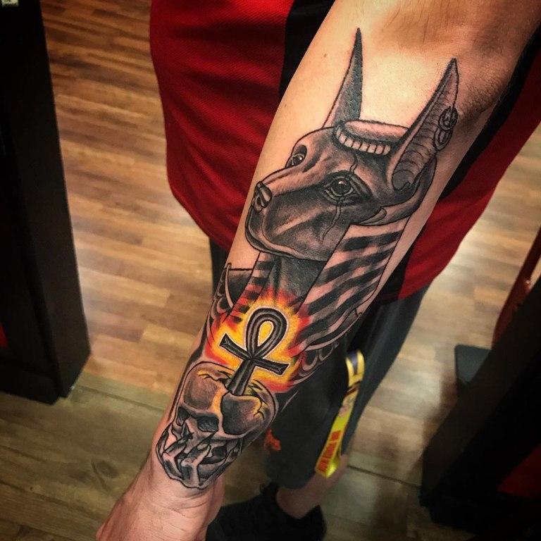 египетские татуировки эскизы