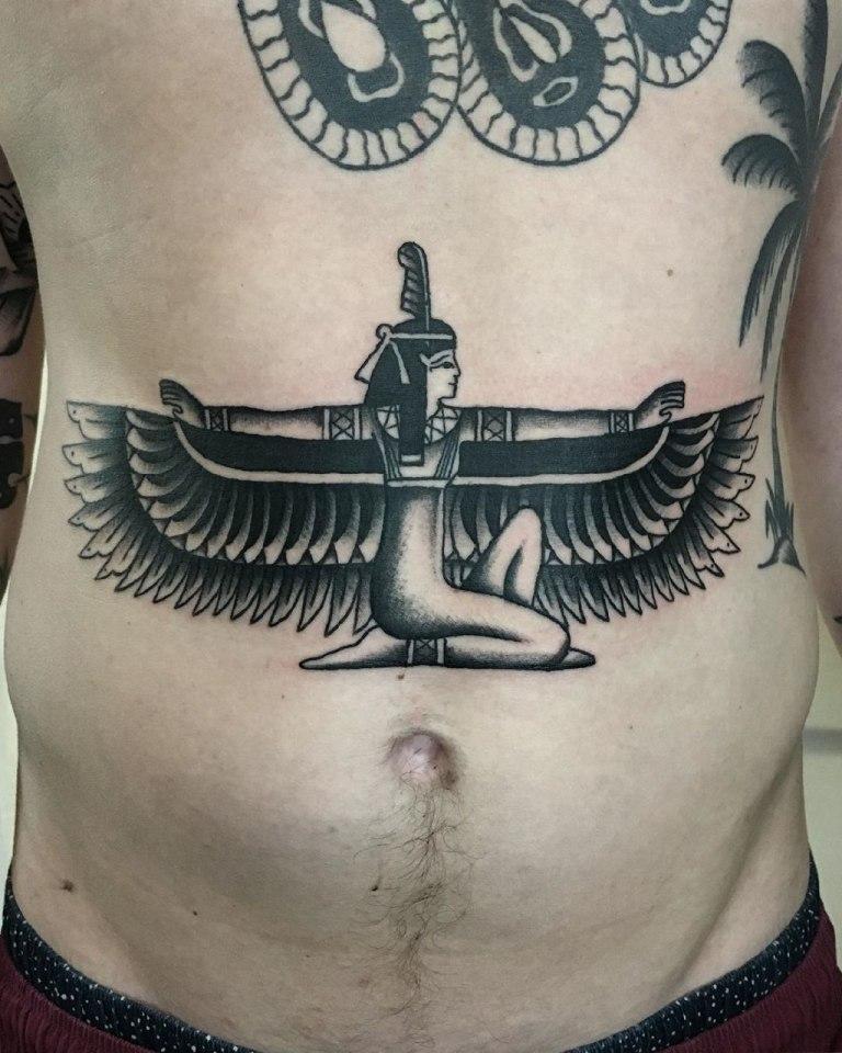 египетские боги тату