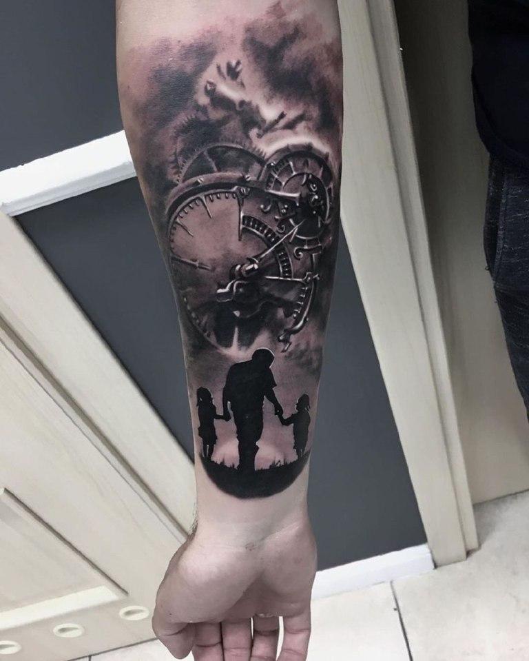 прикольные татуировки для мужчин на руке