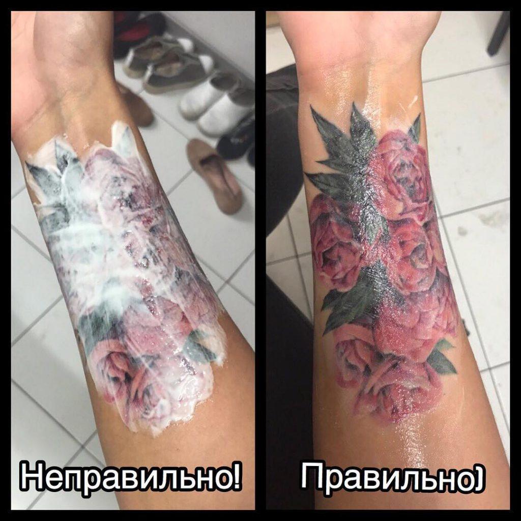 чем можно мазать татуировку для заживления