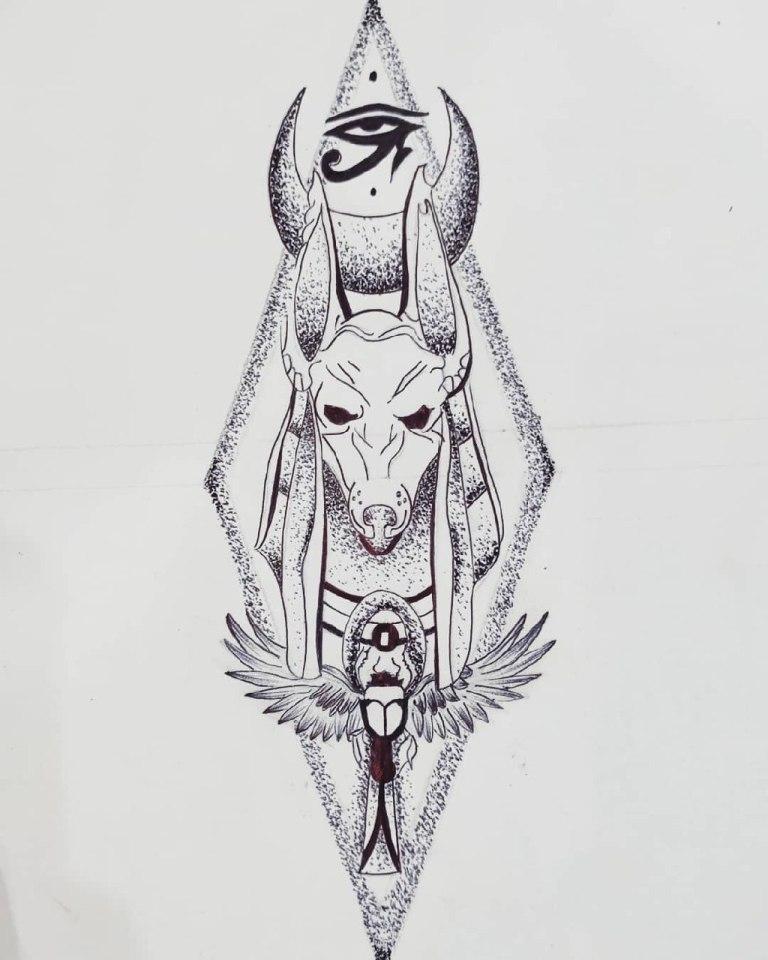 анубис бог смерти
