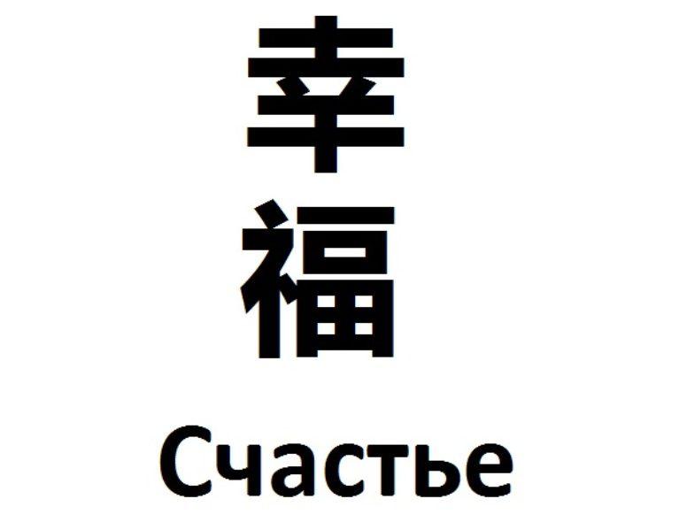 значение иероглифов