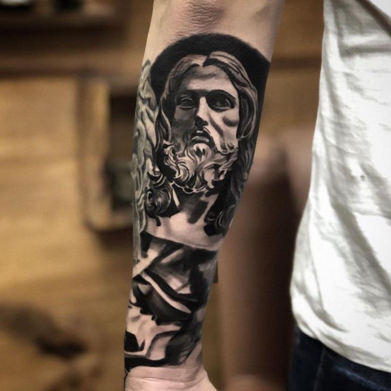 татуировки иисуса