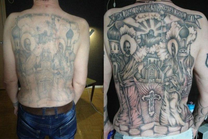 татуировка купола