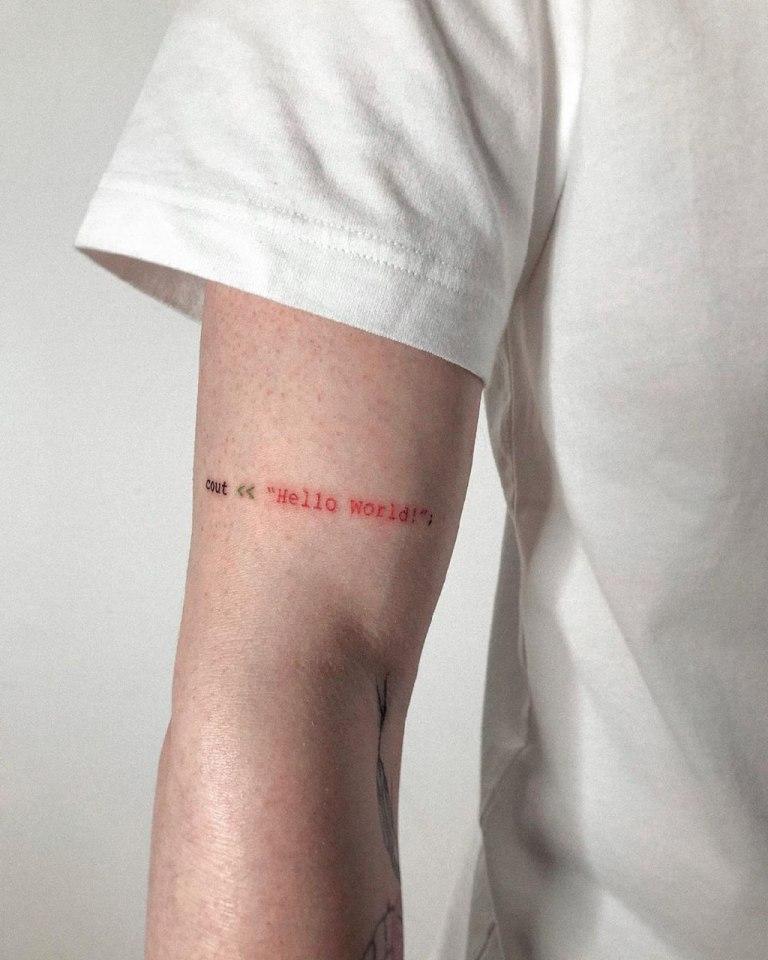 фразы на английском для тату