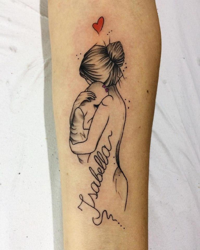 татуировки в честь рождения ребенка