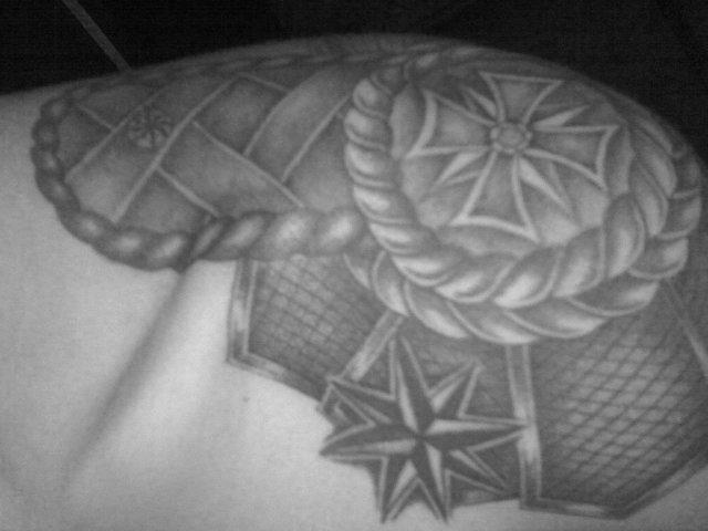 татуировка погон на плече значение