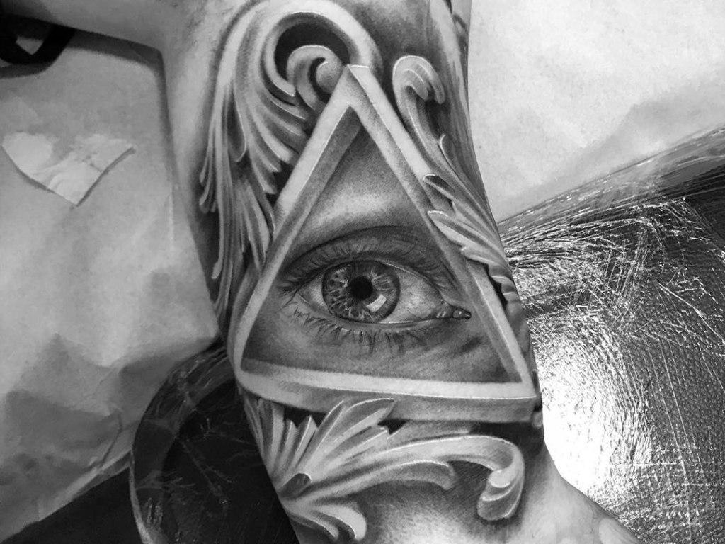 татуировка всевидящее око значение